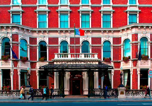 The Shelbourne Hotel in Dublin, Ireland