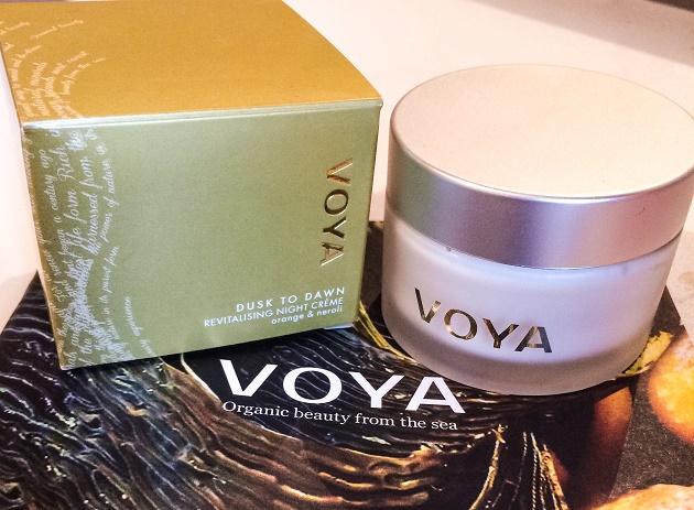 VOYA Dusk to Dawn Revitalising Night Cream