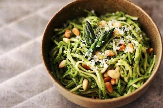 Asparagus Pesto Pasta