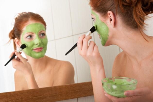 Homemade Face Mask Avocada Face Mask