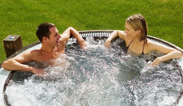 Outdoor Hot Tub - The Wells Sps