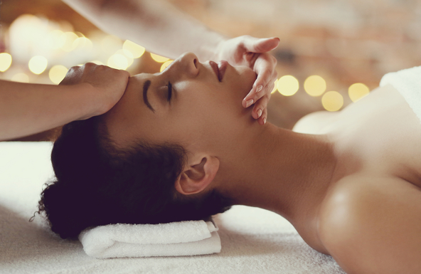 facial stress reducing treatment